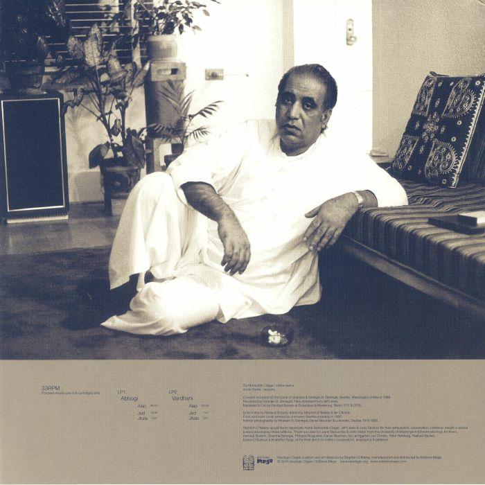 Ustad Zia Mohiuddin Dagar Ragas Abhogi Amp Vardhani Rudra
