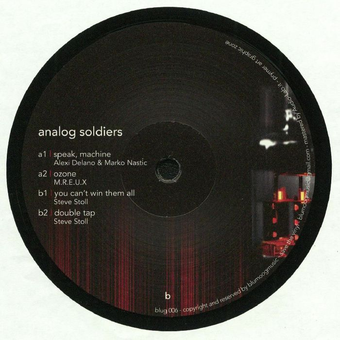 DELANO, Alexi/MARCO NASTIC/MREUX/STEVE STOLL - Analog Soldiers
