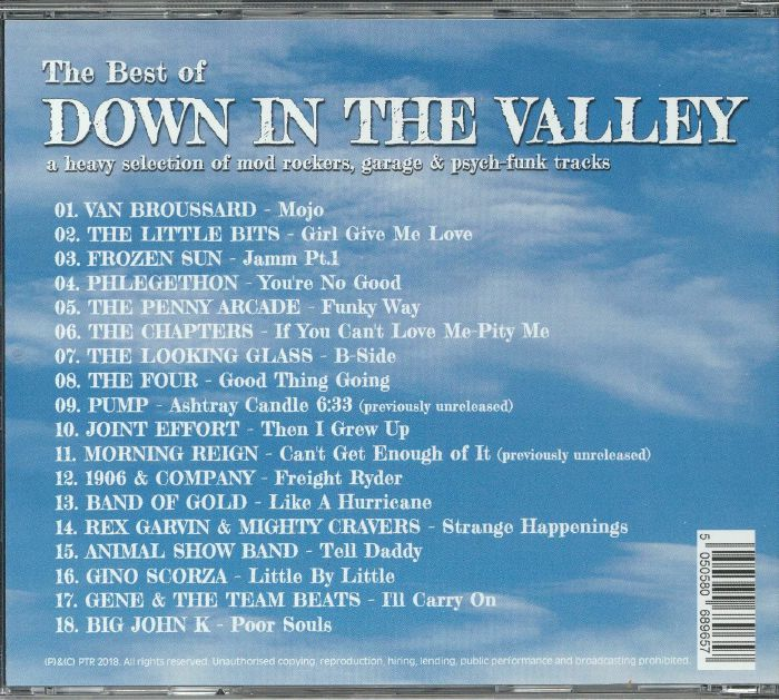VARIOUS - The Best Of Down In The Valley Vol 1 & 2