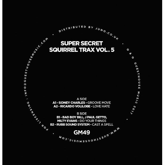CHARLES, Sidney/RICARDO VOLILOBE/BAD BOY BILL/J PAUL GETTO/MILTY EVANS/RUBB SOUND SYSTEM - Super Secret Squirrel Trax Vol 5