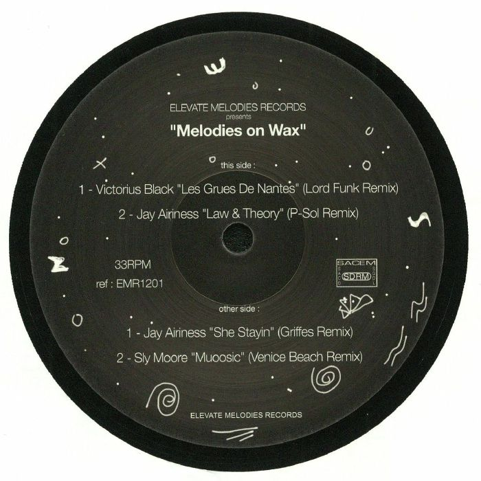 AIRINESS, Jay/SLY MOORE/VICTORIOUS BLACK - Melodies On Wax