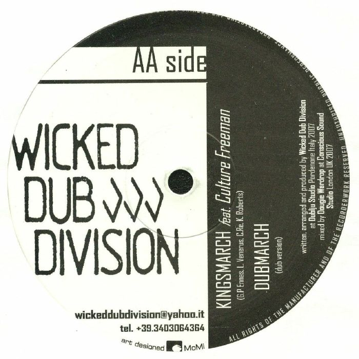 WICKED DUB DIVISION - Bangshaka