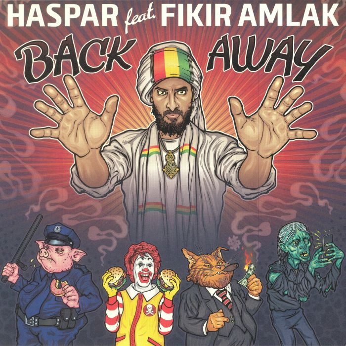 HASPAR feat FIKIR AMLAK - Back Away