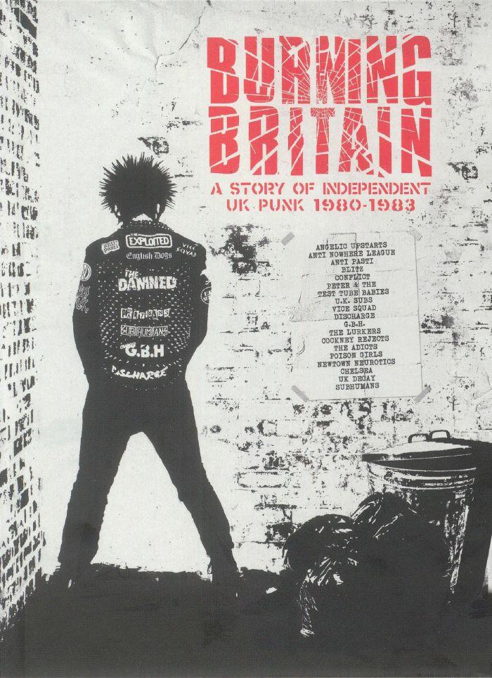 VARIOUS - Burning Britain: A Story Independent UK Punk 1980-1983