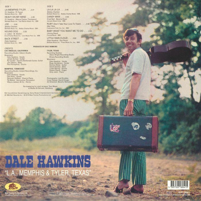HAWKINS, Dale - LA Memphis & Tyler Texas (reissue)