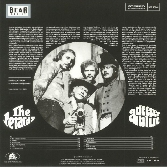 PETARDS, The - A Deeper Blue (reissue)