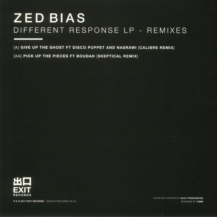 ZED BIAS - Different Response LP: Remixes