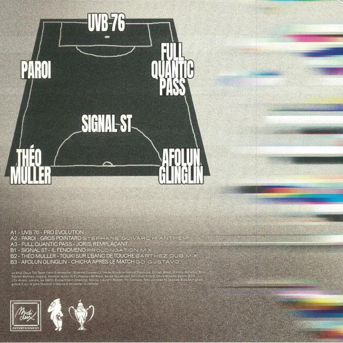 UVB76/PAROI/FULL QUANTIC PASS/SIGNAL ST/THEO MULLER/AFOLUN GLINGLIN - Champions Project EP