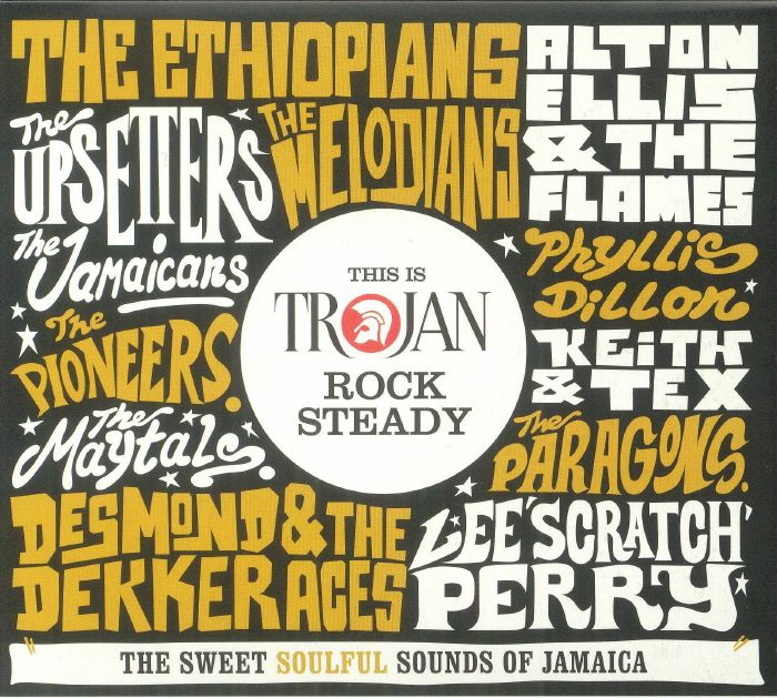 VARIOUS - This Is Trojan Rock Steady: The Sweet Soulful Sounds Of Jamaica