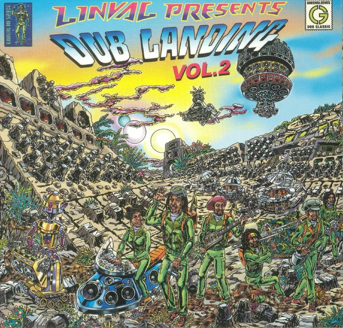 THOMPSON, Linval/VARIOUS - Dub Landing Vol 2