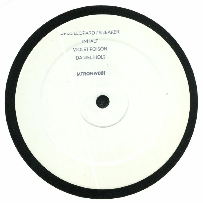 OPUS LEOPARD/INHALT/VIOLET POISON/DANIEL HOLT - Mechatronica White 1