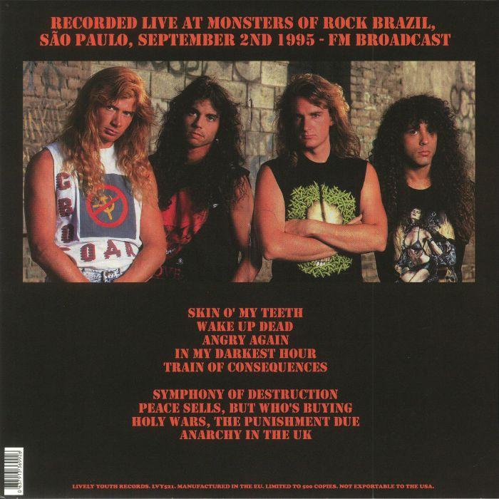 MEGADETH Transamerica Broadcast 1995 vinyl at Juno Records. e5900c54813