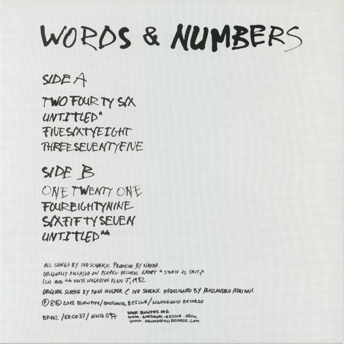 NEXDA - Words & Numbers