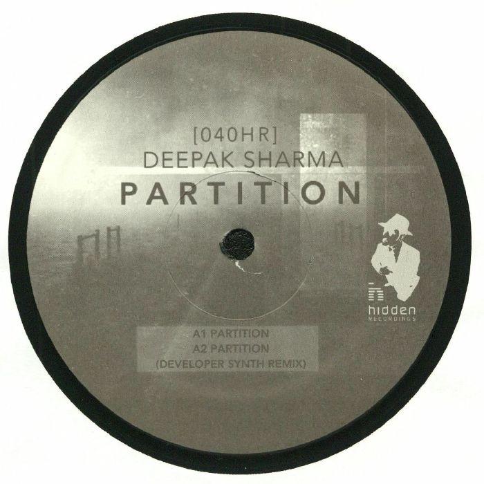 SHARMA, Deepak - Partition