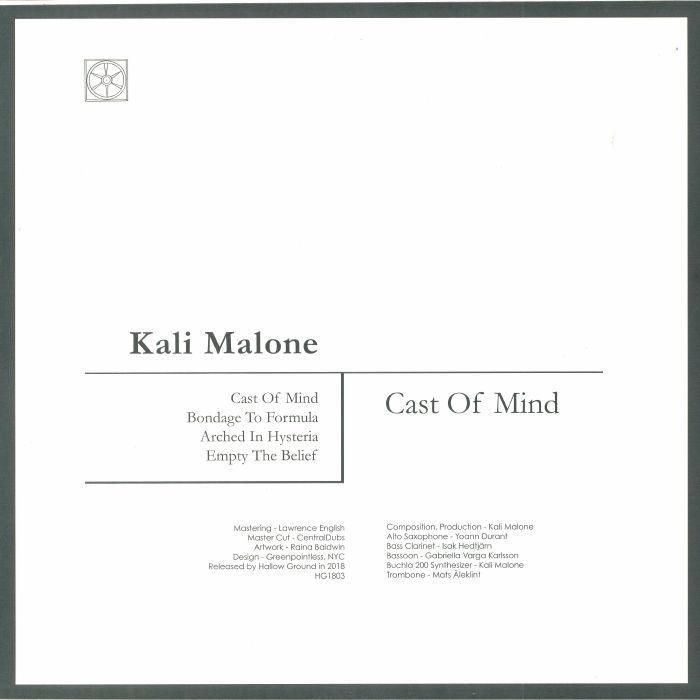 MALONE, Kali - Cast Of Mind