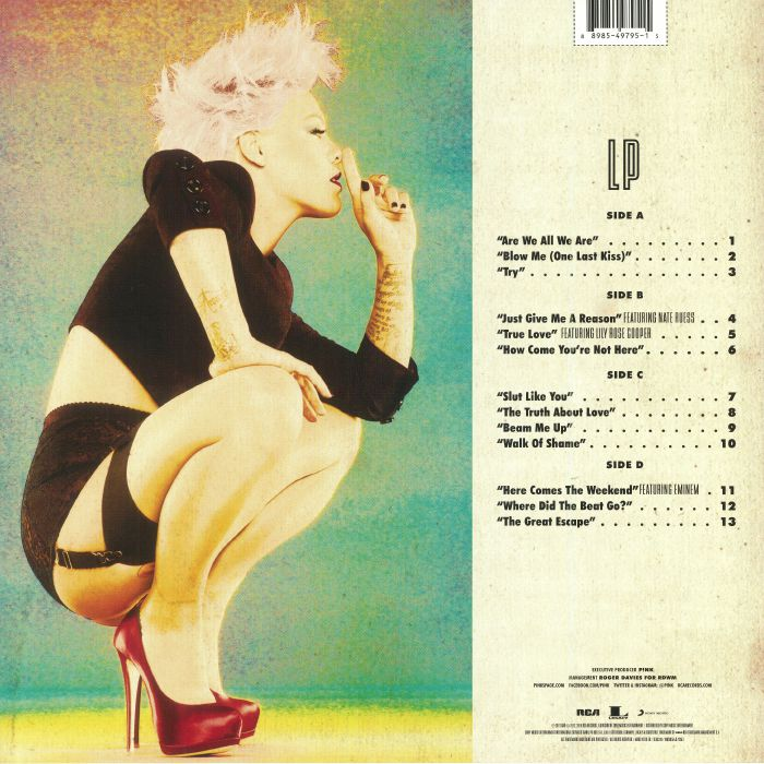 P!NK aka PINK - The Truth About Love (reissue)