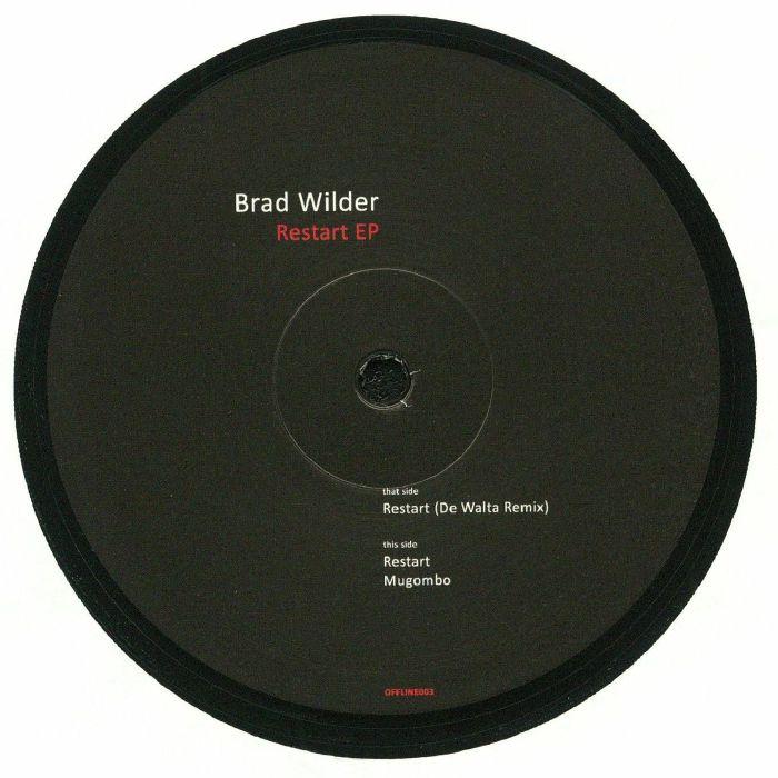 WILDER, Brad - Restart EP