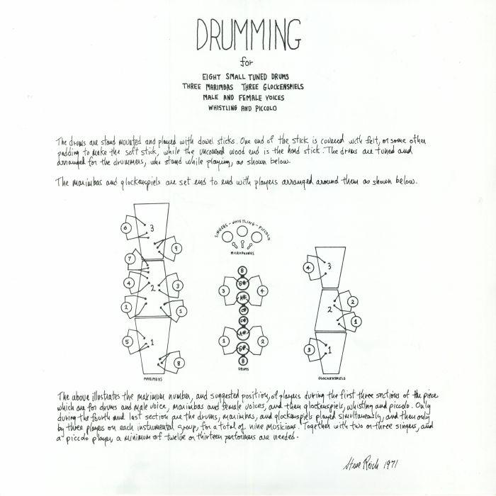 REICH, Steve - Drumming