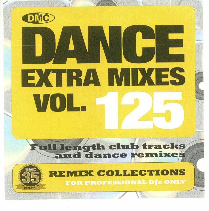 VARIOUS - Dance Extra Mixes Vol 125: Remix Collections For Professional DJs (Strictly DJ Only)