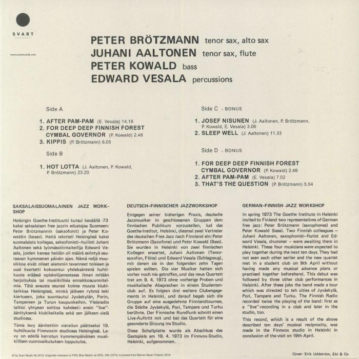 BROTZMANN, Peter/JUHANI AALTONEN/PETER KOWALD/EDWARD VESALA - Hot Lotta