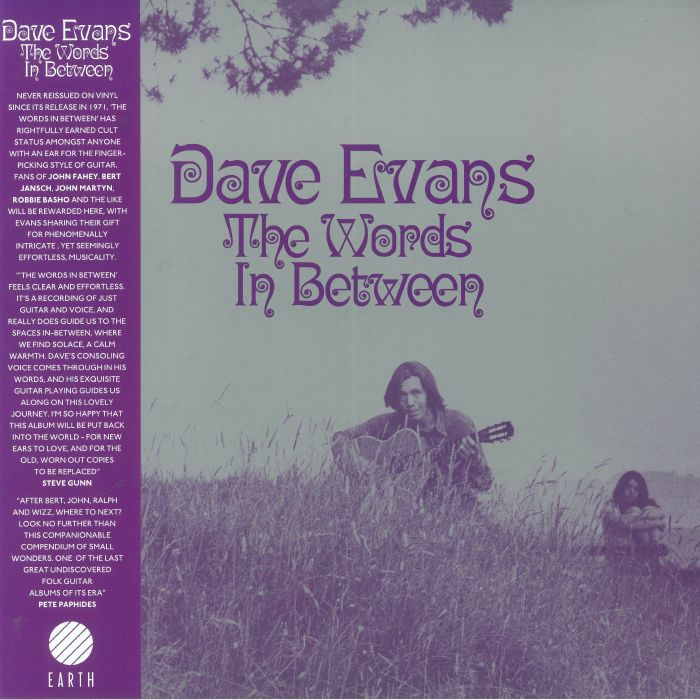 EVANS, Dave - The Words In Between