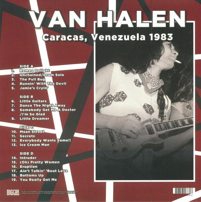 VAN HALEN - Caracas Venezuela 1983
