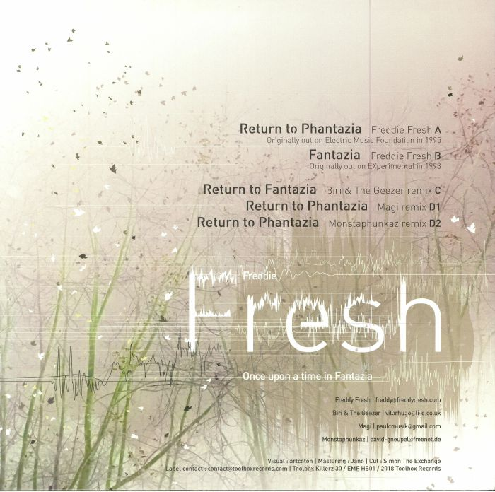 FRESH, Freddie - Return To Phantazia