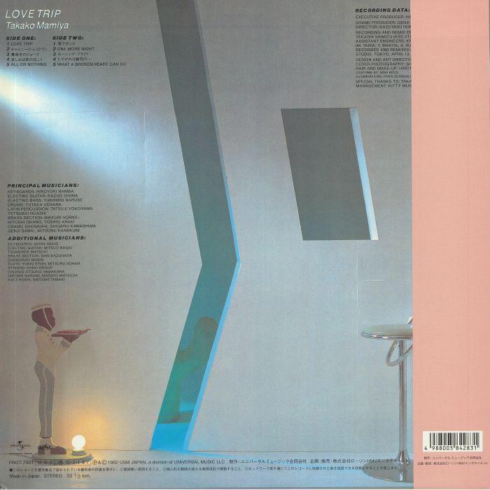 Takako Mamiya Love Trip Reissue Vinyl At Juno Records