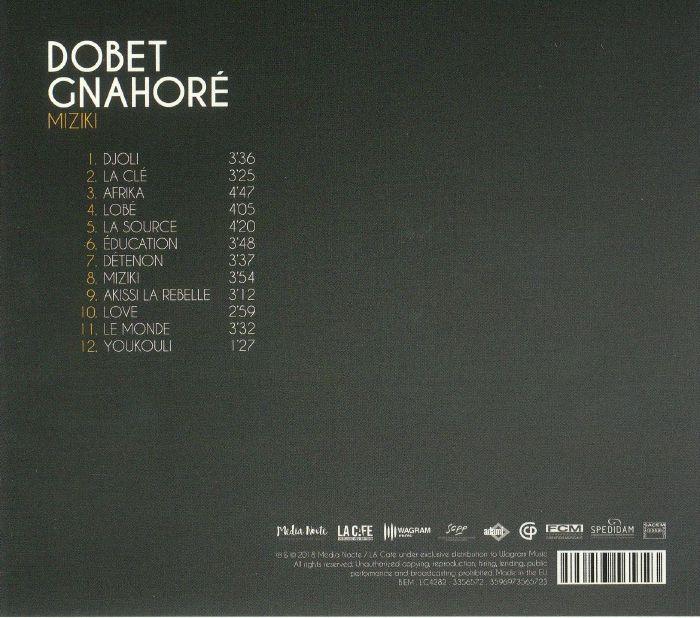 GNAHORE, Dobet - Miziki