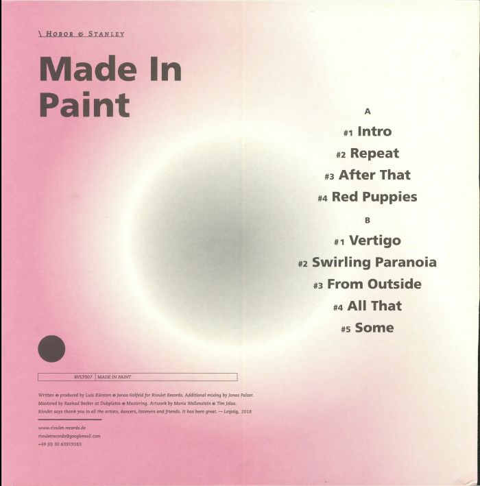 HOBOR/STANLEY - Made In Paint