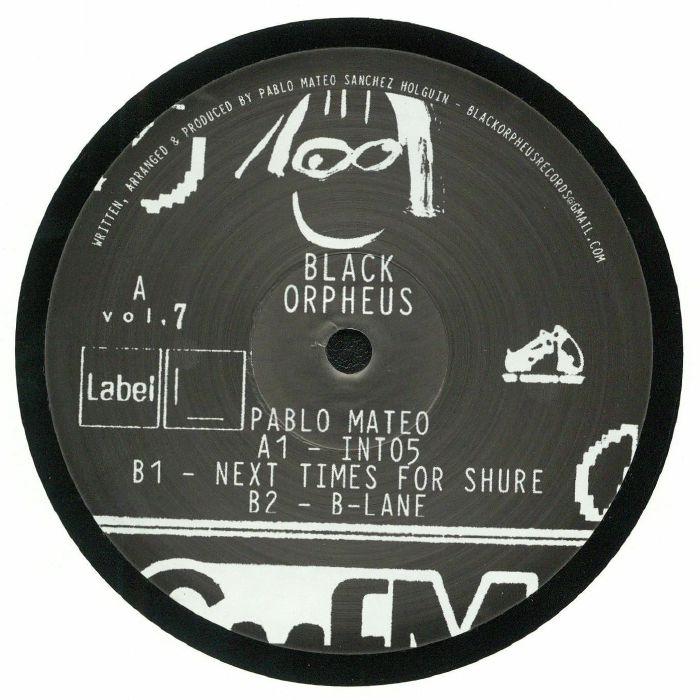 MATEO, Pablo - ORPHEUS 007