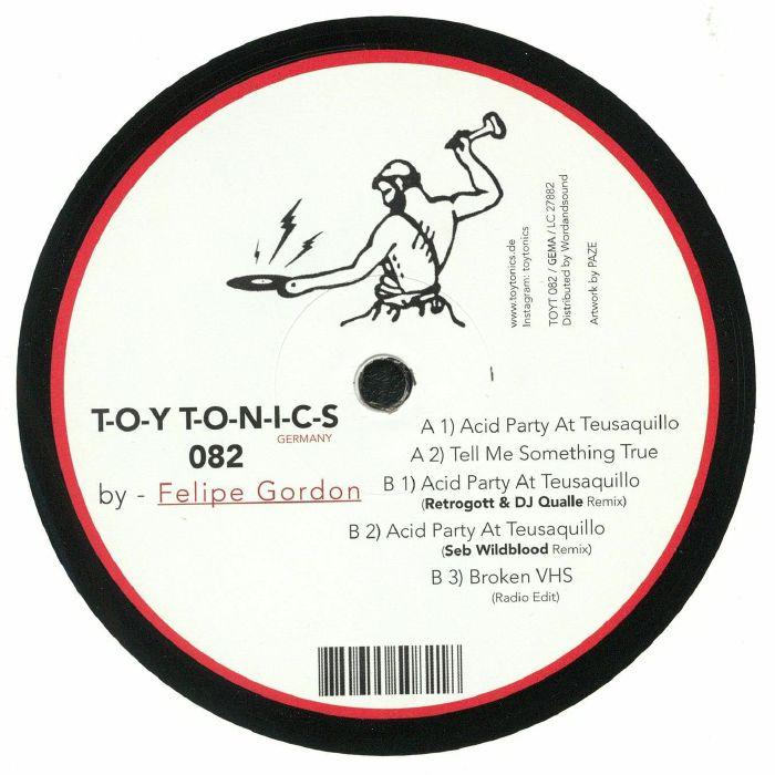 GORDON, Felipe - Teusaquillo EP