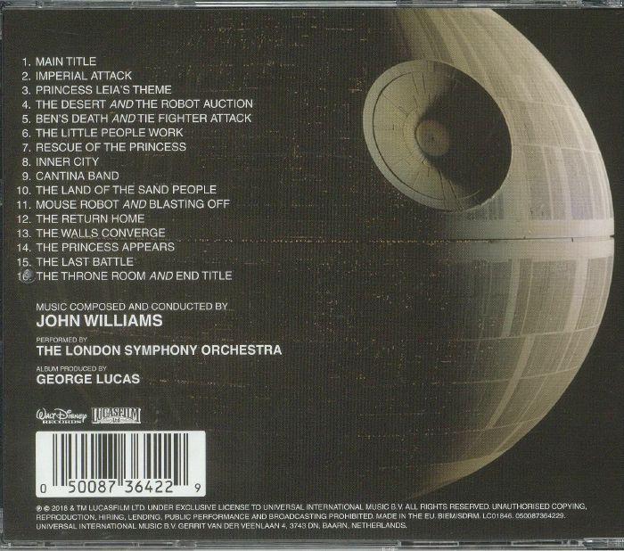 WILLIAMS, John - Star Wars: A New Hope (Soundtrack)