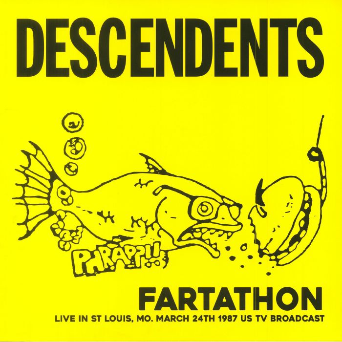 DESCENDENTS - Fartathon: Live In St Louis Mo March 24th 1987 US TV Broadcast