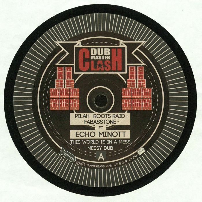 DUB MASTERCLASH feat ECHO MINOTT - The World Is In A Mess