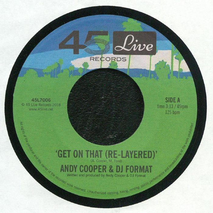 COOPER, Andy/DJ FORMAT - Get On That (Re Layered)