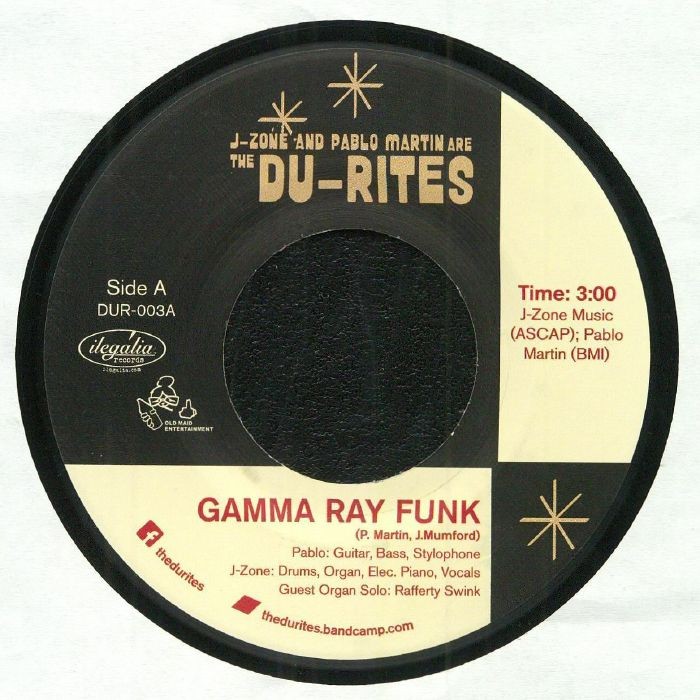 DU RITES, The aka J ZONE/PABLO MARTIN - Gamma Ray Funk