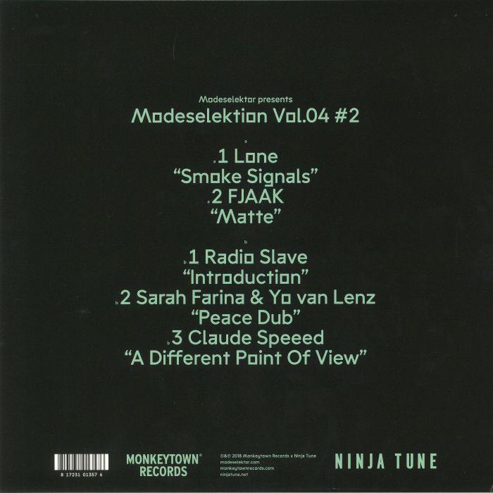 LONE/FJAAK/RADIO SLAVE/SARAH FARINA/YO VAN LENZ/CLAUDE SPEEED - Modeselektion Vol 04 #2