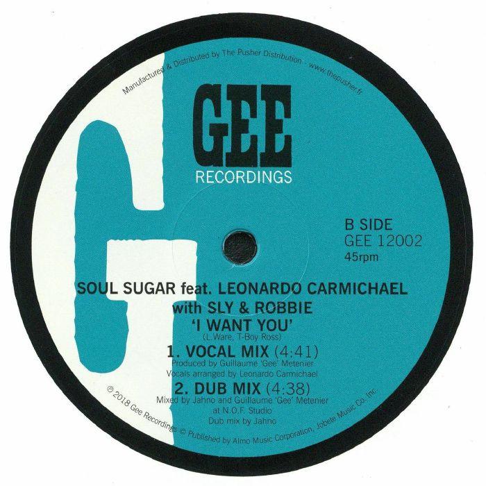 SOUL SUGAR feat LEONARDO CARMICHAEL - I Want You
