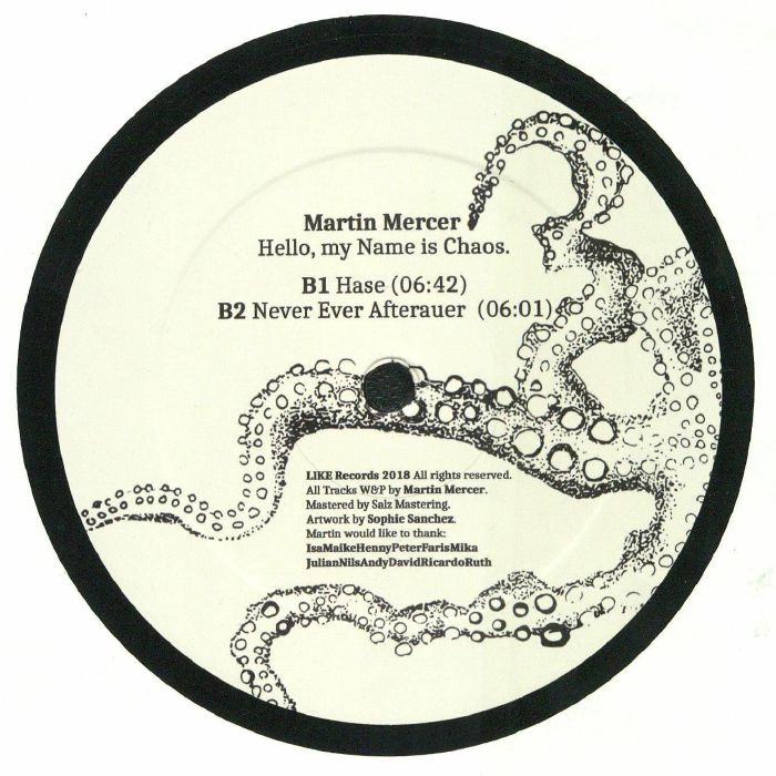 MERCER, Martin - Hello My Name Is Chaos