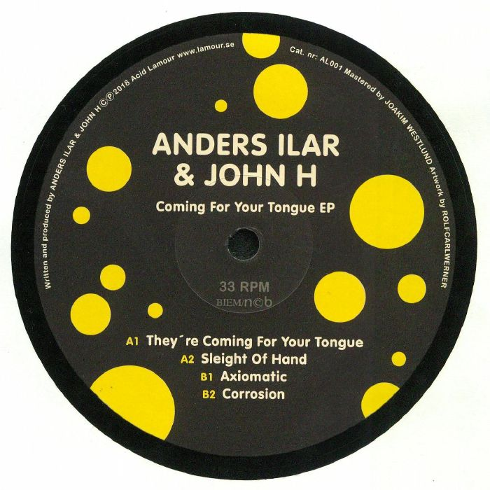 ILAR, Anders/JOHN H - Coming For Your Tongue EP