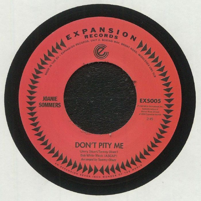 SOMMERS, Joanie - Don't Pity Me