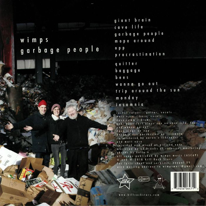 WIMPS - Garbage People