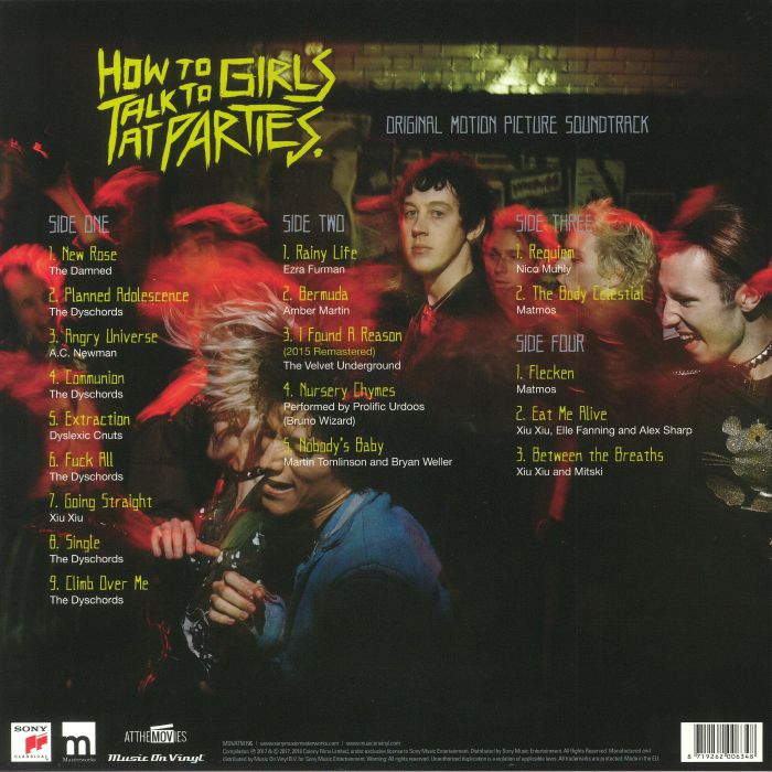 VARIOUS - How To Talk To Girls At Parties (Soundtrack)