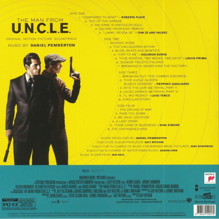 PEMBERTON, Daniel - The Man From UNCLE (Soundtrack)