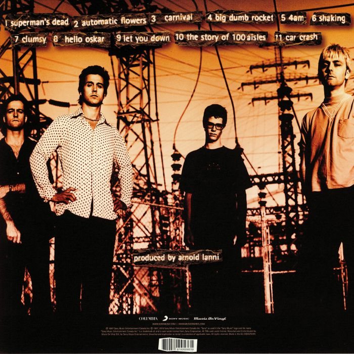 OUR LADY PEACE - Clumsy (reissue)