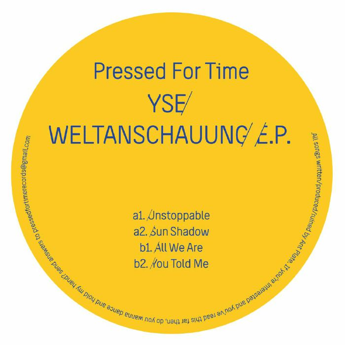 YSE - Weltanschauung EP