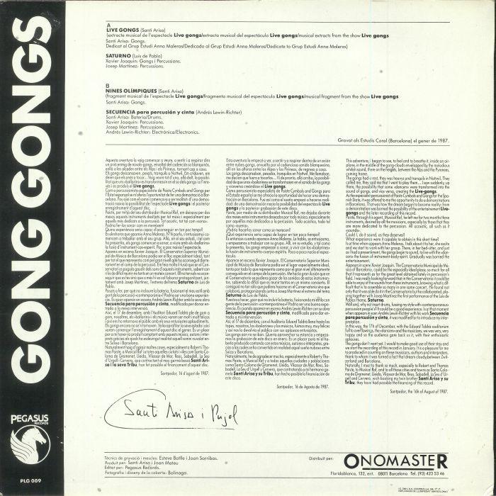 ARISA, Santi/LUIS DE PABLO/ANDRES LEWIN RICHTER - Gong Gongs