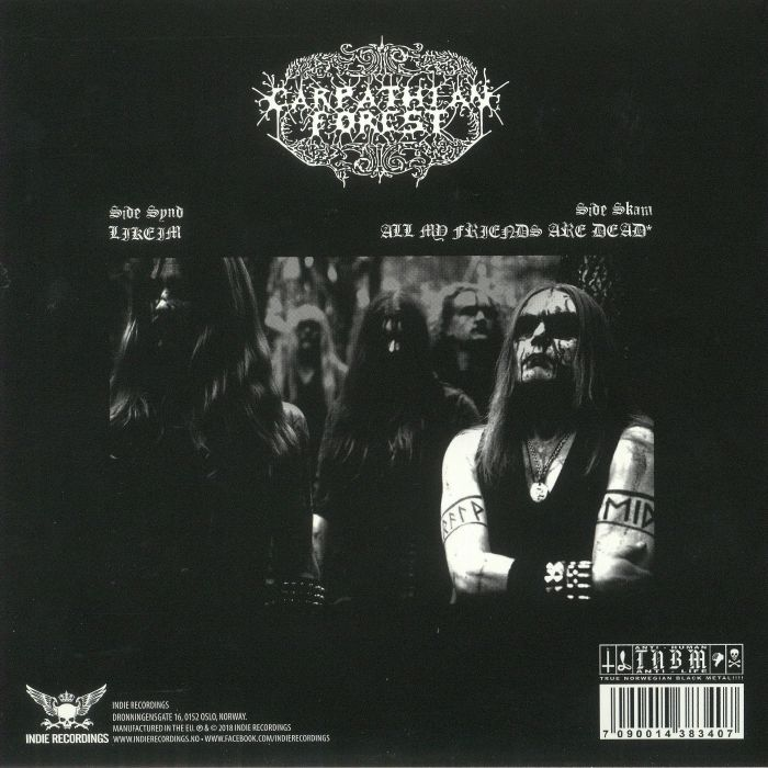 CARPATHIAN FOREST - Likeim