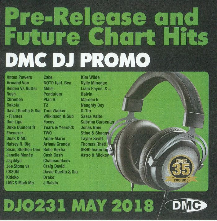 VARIOUS - DJ Promo May 2018: Pre Release & Future Chart Hits (Strictly DJ Only)